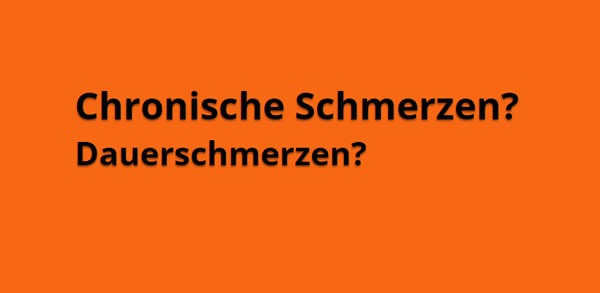 Chronische Schmerzen